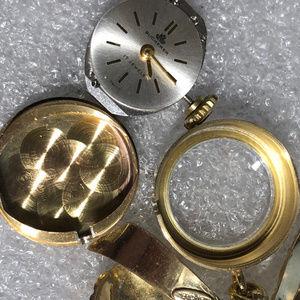 Bucherer Accessories - Vintage 1950's Bucherer 17Jewel Swiss Watch & Bow